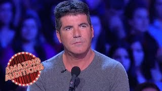 Simon Cowell CRIES On TV For The FIRST Time | Amazing Auditions