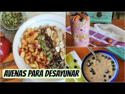 Avenas para desayunar: 3 recetas facilísimas