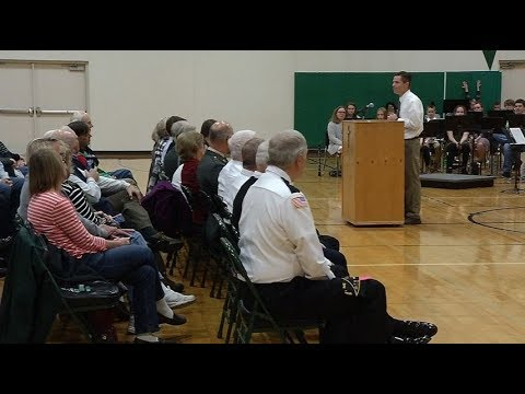 West Lutheran High School honors veterans