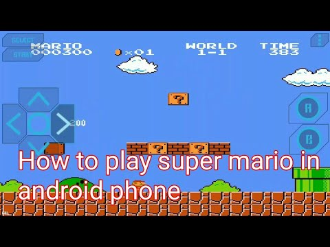 How To Download And Play Super Mario In Android Mobile