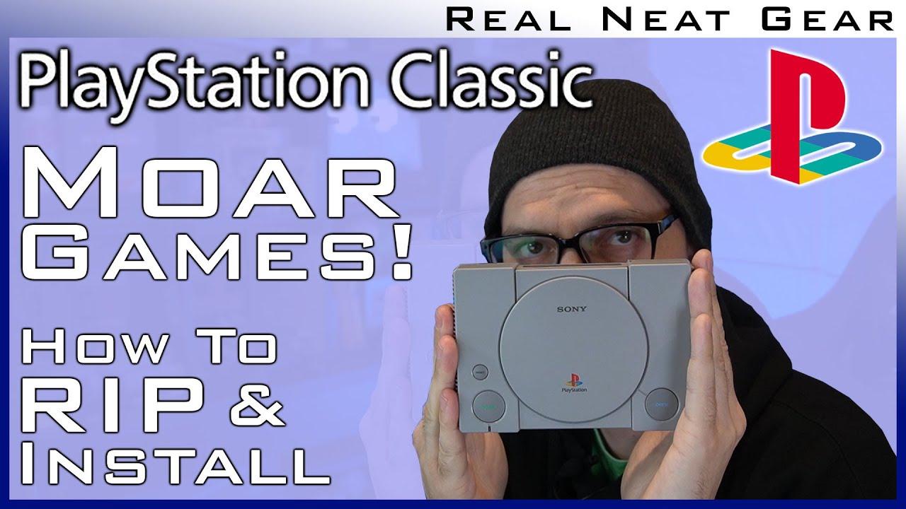 Playstation Classic Mod