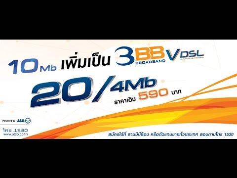 Speed Test 3bb 20/4