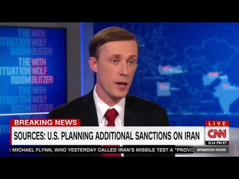 "Former Clinton Advisor Jake Sullivan: ""I Do"" Support New Iran Sanctions"