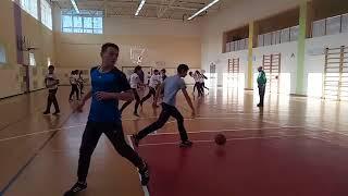 урок физкультуры в 7 классе