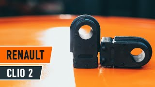 Jak a kdy vyměnit Guma stabilizátoru RENAULT CLIO II (BB0/1/2_, CB0/1/2_): video návody