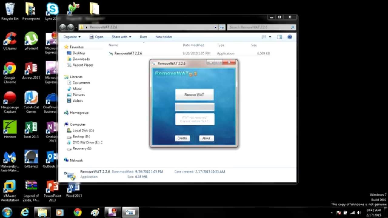windows 7 not genuine build 7601 crack