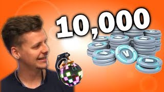 HOW TO WIN 10.000 V-BUCKS AT FORTNITE! (FREE) #BOOGIEDOWN