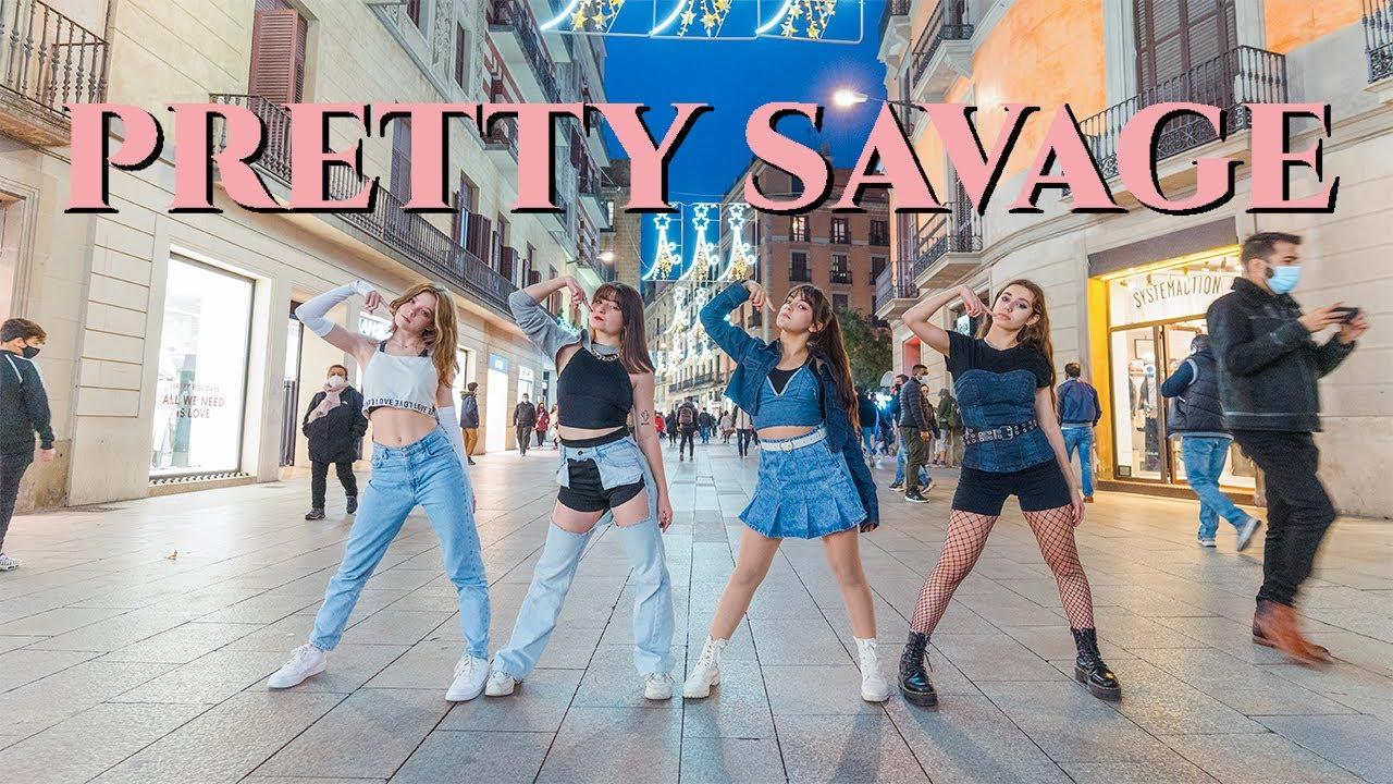 [KPOP IN PUBLIC] BLACKPINK (블랙 핑크) _ PRETTY SAVAGE | Dance Cover by EST CREW