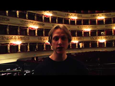 Interview with  David Hallberg (Teatro alla Scala)