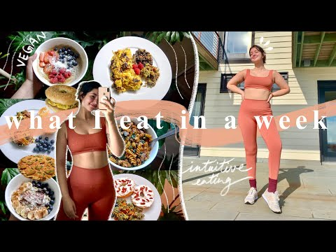 what I eat in a week (vegan, carb-filled, no restrictions) | february 2021