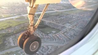 WestJet Encore First Landing in Toronto