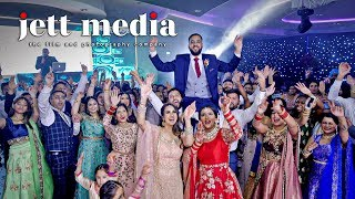 Amazing Dance of a Punjabi song on a Sikh Wedding Day / Jett Media