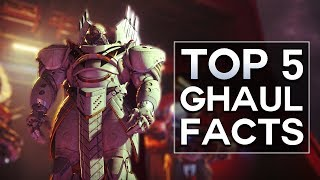 Destiny 2 - Top 5 Ghaul Facts