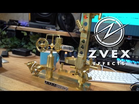 ZVEX Candela Vibrophase - Unboxing a candle powered guitar effect