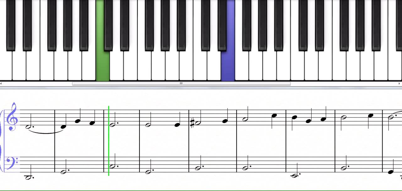 Let There Be Peace On Earth a Christmas song for piano level 5 ...