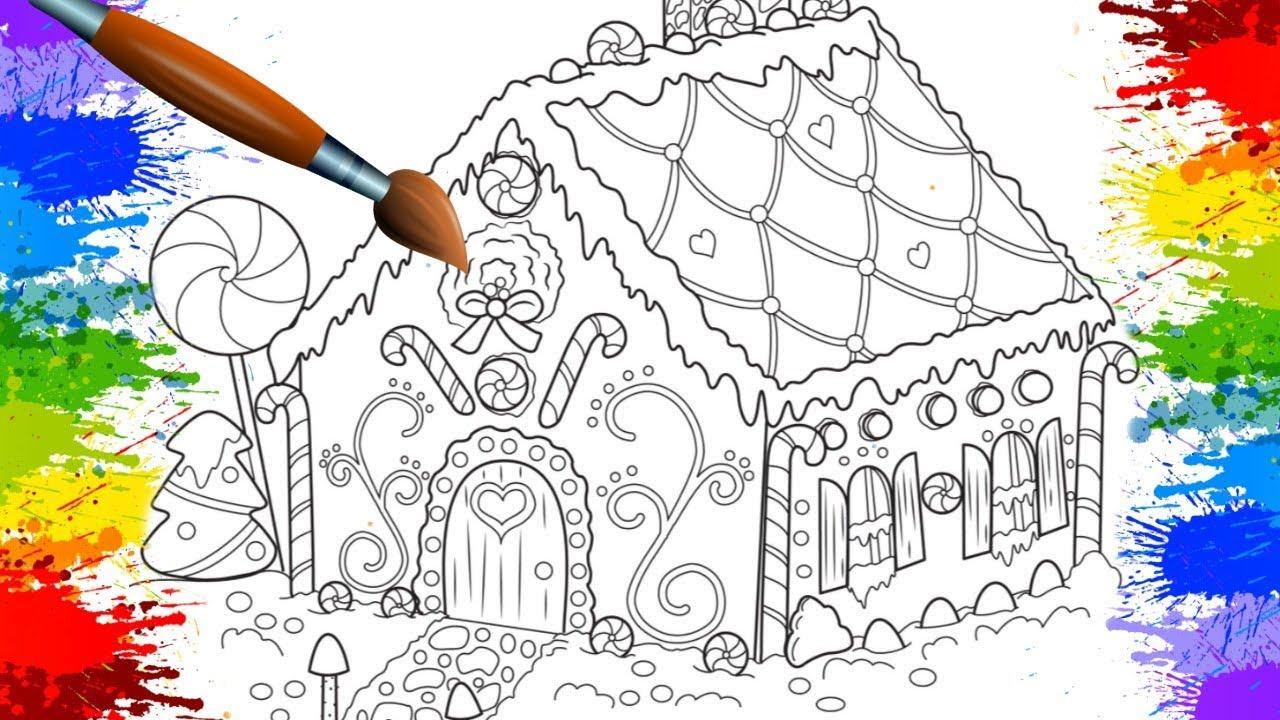 Pinturas Doces E Balas Desenhos Divertidos Para Crianca Colorir
