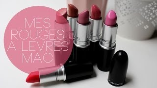 ♡ Mes rouges à lèvres MAC Thumbnail
