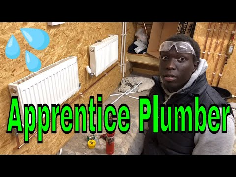 Apprentice Plumber Training Central Heating - Day Two