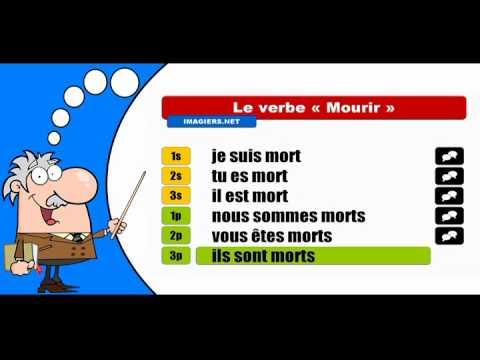 La conjugaison du verbe Mourir # Indicatif Passé composé ...
