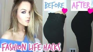 Fashion Life HACKS | My 5 TOP Secrets