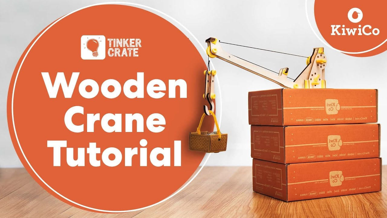 Build A Wooden Crane And Experiment With Pulleys Youtube