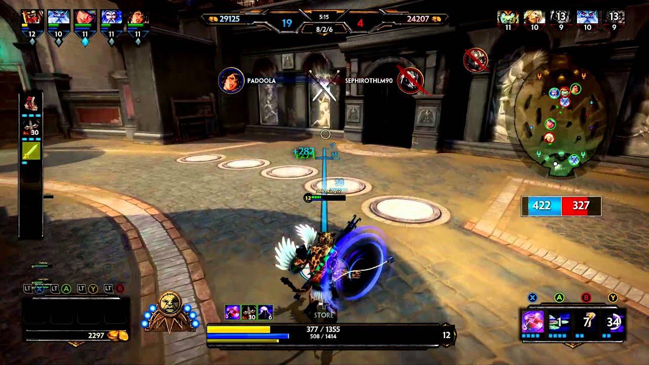 Smite Xbalanque Arena Build