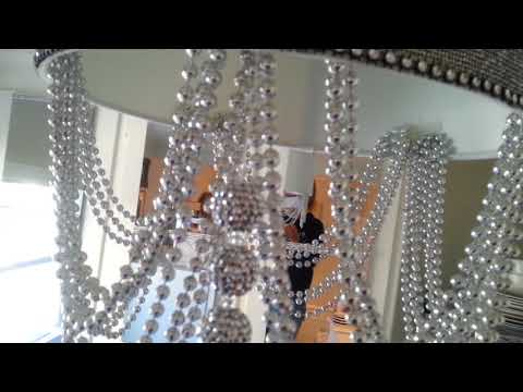 DIY Bling out your Lamp Shade