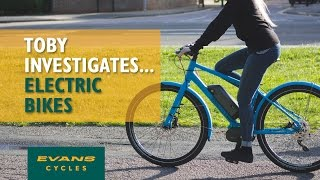 Electric Bikes; the future?... Toby Investigates