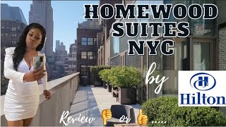 One of the best hotels in NYC??? Homewood Suites🤔Tour & Review Summer 2021. Is it worth the stay?