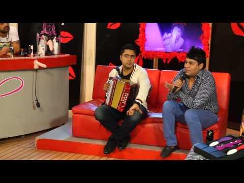 Churo Diaz y Lucas Dangond Grabación programa Switch de Cinema +