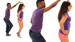 Intermediate Footwork with a Partner | Bachata Dance