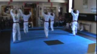Boise Tang Soo Do Black Belt Test Chil-Sung Sam Roh form