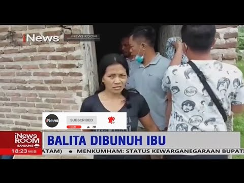 Ibu Biadab Pembunuh Anak Kandung Usia 9 Bulan Ditangkap di Lampung Selatan  - iNews Room 09/02