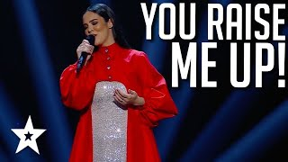 AMAZING Vocal from Sílvia Pinto on Portugal's Got Talent 2021   Got Talent Global