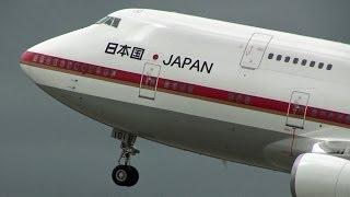 タッチ&ゴー8連発!!! 日本国政府専用機 JASDF 航空自衛隊 千歳基地