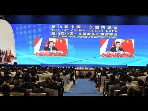 2017 09 13 HUN SEN, Prime Minister of the Kingdom of Cambodia Attend the 14th China ASEAN Expo in  C