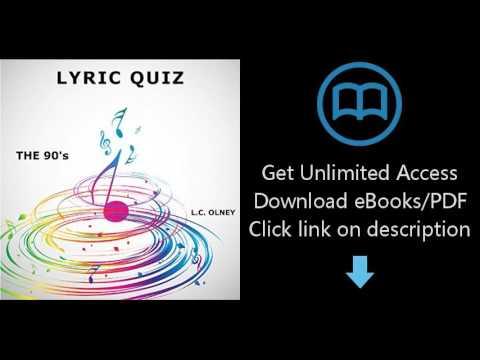 Download Lyric Quiz:  The Nineties (interactive pop quiz book) [P.D.F]
