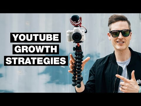 3 YouTube Growth Strategies for 2018