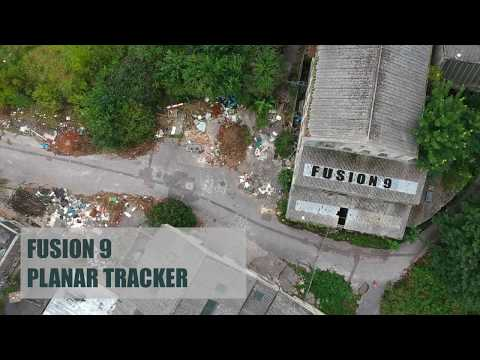 Blackmagic Design Fusion 9 - Planar tracker tutorial