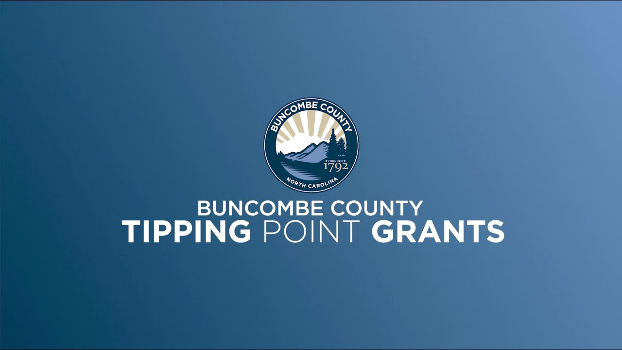 Tipping Point Grant - Buncombe County | Asheville