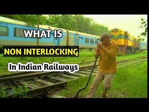What is Non Interlocking Signalling System In Indian Railways