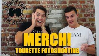 Unser MERCH! - Tourette beim Fotoshooting!!