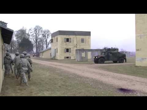 Soldiers Conduct FTX In Germany