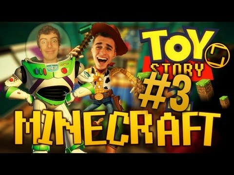 Toy story sur minecraft on est des jouets avec squeezie pisode 3 youtube - Cochon de toy story ...