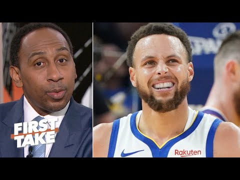 Stephen A. Hopes Steph Curry Sits Out The Remainder Of The Season | First Take