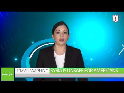 Syria Travel Warning