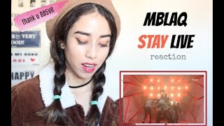 MBLAQ-STAY LIVE [reaction]