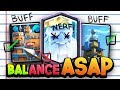 BROKEN! 8 Cards That NEED BALANCE in Clash Royale!