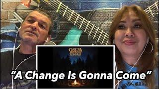Greta Van Fleet - A Change Is Gonna Come | Reaction