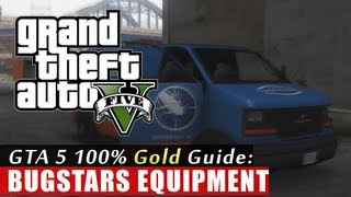 GTA 5 Walkthrough: Bugstars Equipment (100% Gold Completion) HD